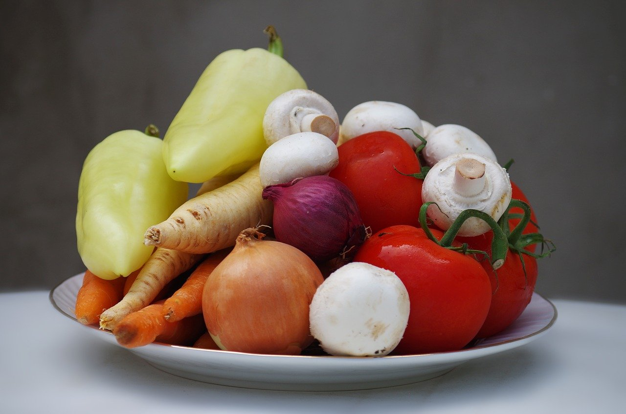 Rau củ quả cho người ăn chay